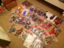 I live no life (my comic collection) by biostings