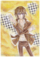 Lelouch: Chess by nor-renee