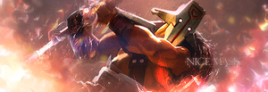 Nice Mask they said, WHAT MASK?! Dota 2 Sig by CryXis4