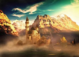 Castle Alps by roseruby82