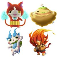 Yo-kai Watch Characters by GabrielaMichelle