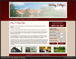 Holiday Cottage Website Design by wilde-media