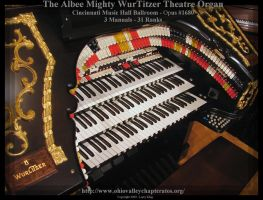 Albee Mighty WurliTzer Console by slowdog294