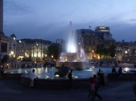 Trafalgar Fountain by Cszemis