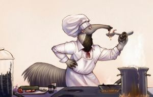Andy the Chef by Ah-Leeza