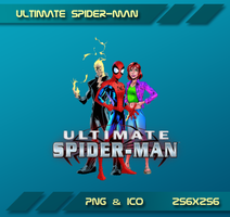 Ultimate Spider-Man Dock Icon by Dohc-WP
