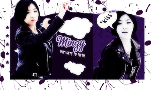 {Sign #1} Minzy (2NE1) by larry1042001