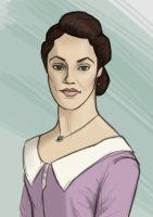 Lady Sybil Crawley by mirics