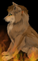 Put your paws into the fire by Rans-green-moon