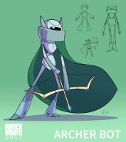 Archer Bot by EnciferART