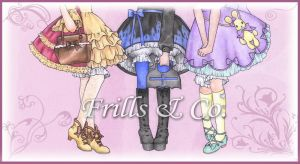 Frills and Co by BonBonPoupee