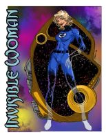 Invisible Woman by lilmikeegee