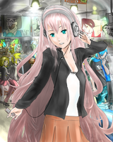 Luka - Record Bar by cafekun