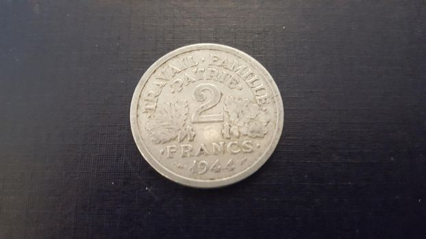 French coin from 1944 by Arminius1871