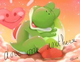 Yoshi Love One Another by FreewolfD