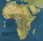 Africa,Colonial - Anglo-Iberia by Neethis