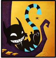 Cheshire Grin by Ornate-Serpent