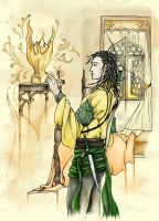 Morghiad and the Fighters' Trophy by HOCHarles