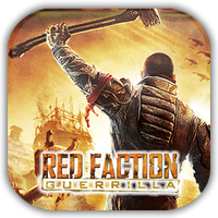 Red Faction Guerrila Game Icon by Wolfangraul