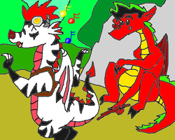 how the two dragons met by conlimic000