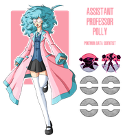 Fakemon: Asistant Professor Polly by MTC-Studios