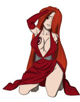 Fairy Tail Sexy Flare by codzocker00
