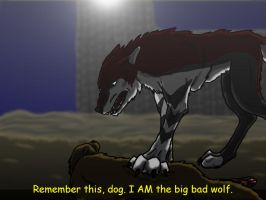I AM the big bad wolf by gar-a-ash