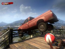 parking on dead island by pedrokomando