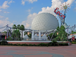 Epcot Spaceship Earth Stock 23 by AreteStock