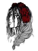 Rose | Spilled Ink Challenge by ayien-chan