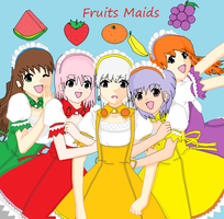 Fruits Maids by thouartfan