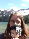 Kid and I at Glacier Park, MT by umbreon88