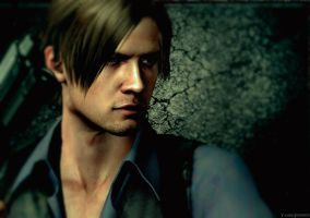 Leon S. Kennedy by YaninaJohnson