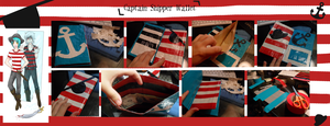CaptainShipper Themed Duct Tape Wallet by ay4u