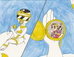 Me as Moon Ranger Princess thinks about Andros by Magic-Kristina-KW