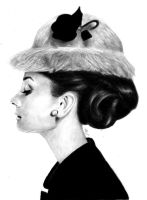 Miss Hepburn by whikiko