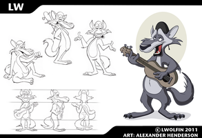 Commission - LW Model Sheet by AlexanderHenderson