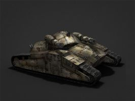 Thunder Track3 by game-3d-models