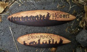 Hobbit and LotR's Surfboards by RHatake
