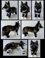 Melanistic Wolfer Again by SarityCreations