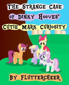Dinky Hooves Cutie Mark Curiosity Cover by DinkyUniverse