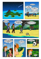 Futurama - Tales of Meatbag Island - PAGE 24 by Spider-Matt