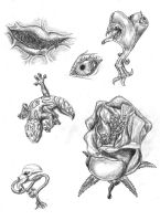 random tattoo designs by Schatten-Drache