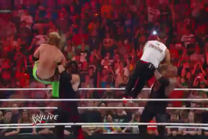 Double Chokeslam - Kane and Taker by SoulfulNobody
