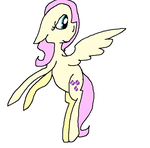 Fluttershy wing flap cycle example by Gargle506