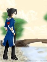 Sasuke for sasukefan328 by KiroHoshi