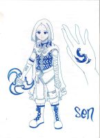 Sen (13 years old) by sendichic