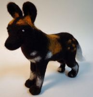 African Wild Dog by Lobster-Ball