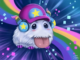 league of legends Poro arcade by TheMysticWolf