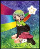 :RAiNBOW STAR: by DiNDiN-HiME